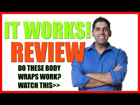 It Works Body Wraps Review - Can You Really Lose Weight From the Body Wraps?