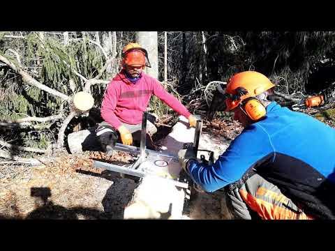 Trail building   segheria portatile