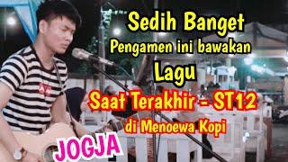 Download lagu Jadi Sedih Banget - SAAT TERAKHIR - ST 12 - Live Menoewa Kopi Jogja