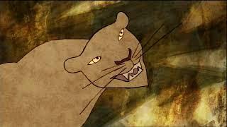 Отчего у леопарда черные пятна. Смотреть мультфильм в хорошем качестве.