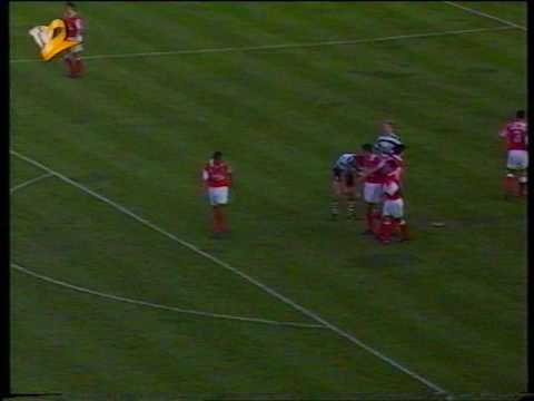 Sporting - 2 x Braga - 1 de 1993/1994 5ª Elim Taça de Portugal