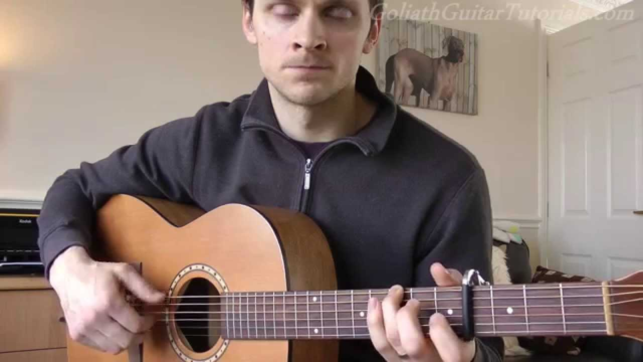 how to play yellow on guitar