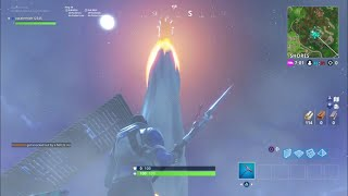 Season 4 *ROCKET LAUNCH EVENT* : BEFORE, DURING, & AFTER! - Fortnite Battle Royale (CRAZY)