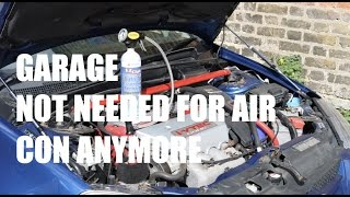 How to Re-Gas Air Con Yourself! - PerformanceCars