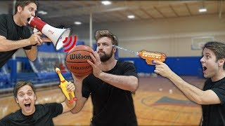 DISTRACTION BASKETBALL CHALLENGE!
