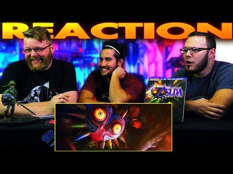 Legend of Zelda - Majora's Mask - Terrible Fate REACTION!!