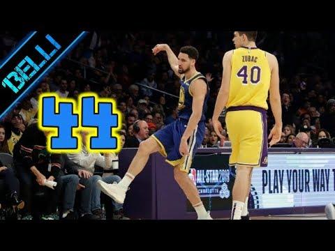 Klay Thompson 'MA BASTAAA! E' DISUMANO!' RECORD 10 Triple di fila vs Lakers (Live🎙F.Tranquillo)