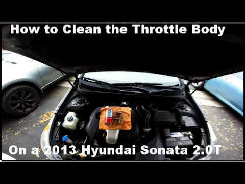How to Clean the Throttle Body on a 2013 Hyundai Sonata 2 0 Turbo