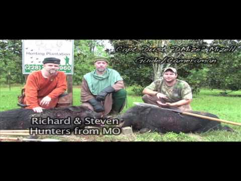 Spear Hunting Wild Boar MEDIEVAL STYLE! In Mississippi With South Coast Safaris