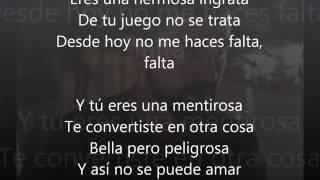 Juanes hermosa ingrata (LETRA)
