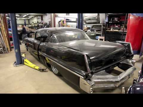 The guys at Ida Automotive are building a 1957 Cadillac with LS3 and air ride
