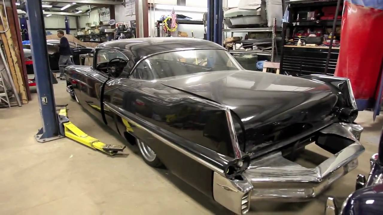 The guys at Ida Automotive are building a 1957 Cadillac with LS3 and