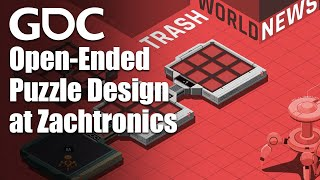 Open-Ended Puzzle Design at Zachtronics
