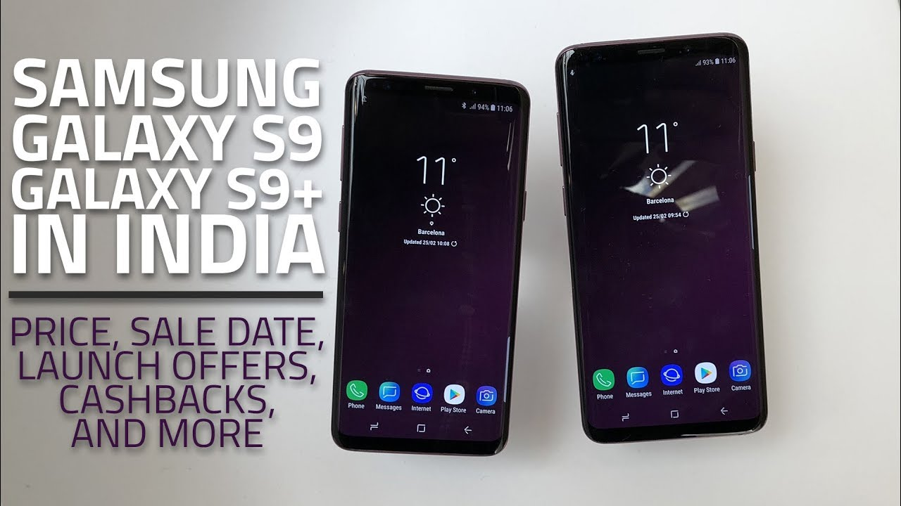 Samsung Galaxy S9, Galaxy S9+ in India: Everything You ...