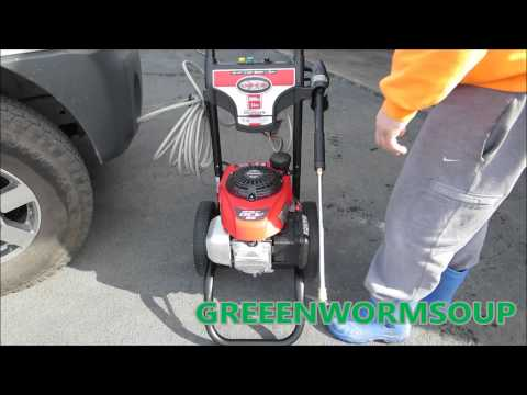 3000 PSI Honda Engine Simpson Power Washer