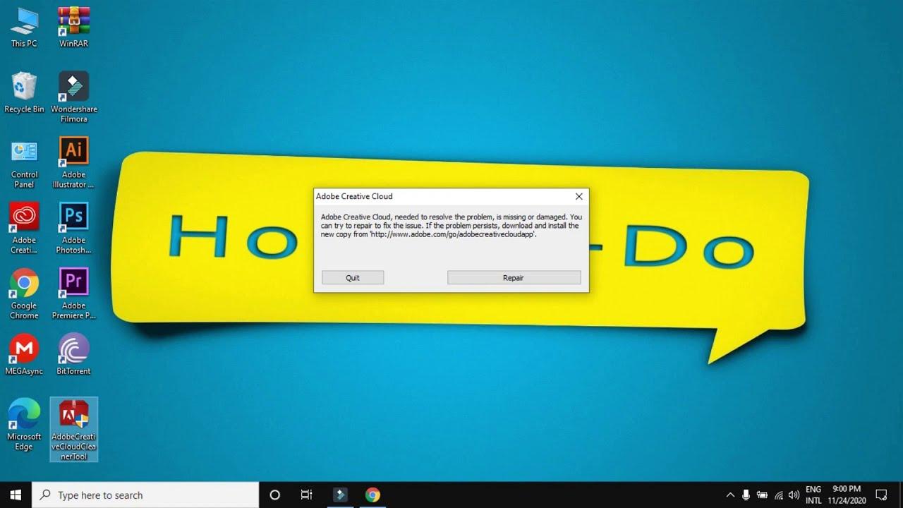 Tips Cara Menonaktifkan Adobe Creative Cloud mudah