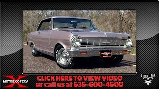 1965 Chevrolet Nova SS || For Sale