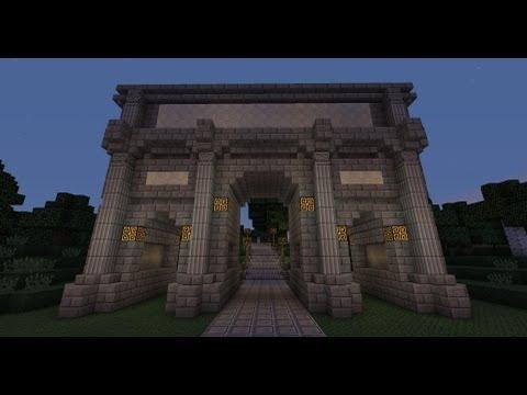 Minecraft - Roman Triumphal arch - tutorial