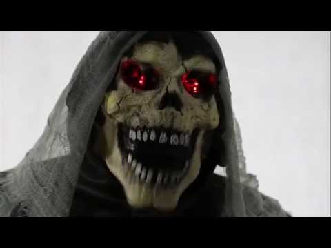 Graveyard Reaper Animated Halloween Prop