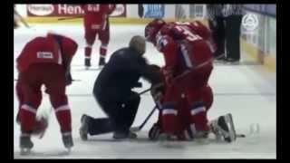 VM 2008 - Sverige vs Ryssland FIGHT