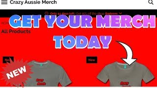 New Merch Now Available GET IT NOW BEFORE IT GOES.