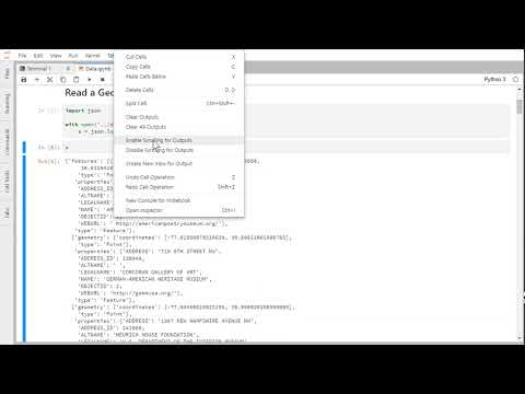 JupyterLab Notebook Output Scrolling - YouTube