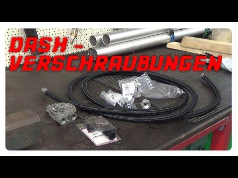 Etwas über Dash Verschraubungen /  Leitungssysteme  / Hydraulikleitungen