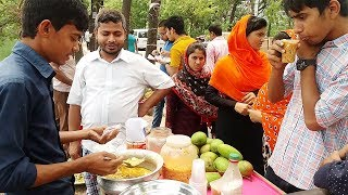 Kacha Aam Vorta Tasty Indian Street Food Masala Aam Green Mango Aam Vorta Street Food Spicy Mango