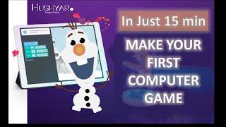 Kids Fun Coding Time  15min Challenge  Snowball Fight - Elsa vs. Olaf  Disney Frozen2