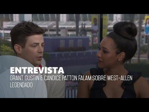 LEGENDADO Grant Gustin e Candice Patton falam sobre WestAllen em entrevista.