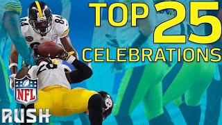 :raised_hands::skin-tone-5: Top 25 Celebrations of the 2017 Season! | NFL Highlights