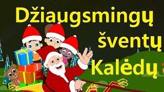 Džiaugsmingų šventų Kalėdų | Kalėdinės dainos | Lietuviškos vaikiškos dainelės