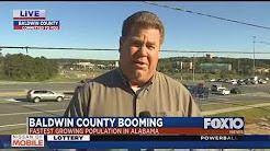 Baldwin County population growth