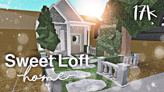 Sweet Loft Home 17k ||~bloxburg