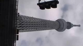 Japan Tour 2014  Tokyo Skytree der höchste Turm der Welt steht im Erdbeben-Gebiet