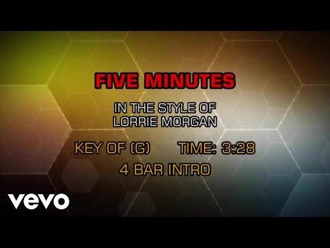Lorrie Morgan - Five Minutes (Karaoke)