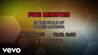 Download lagu Lorrie Morgan - Five Minutes (Karaoke)