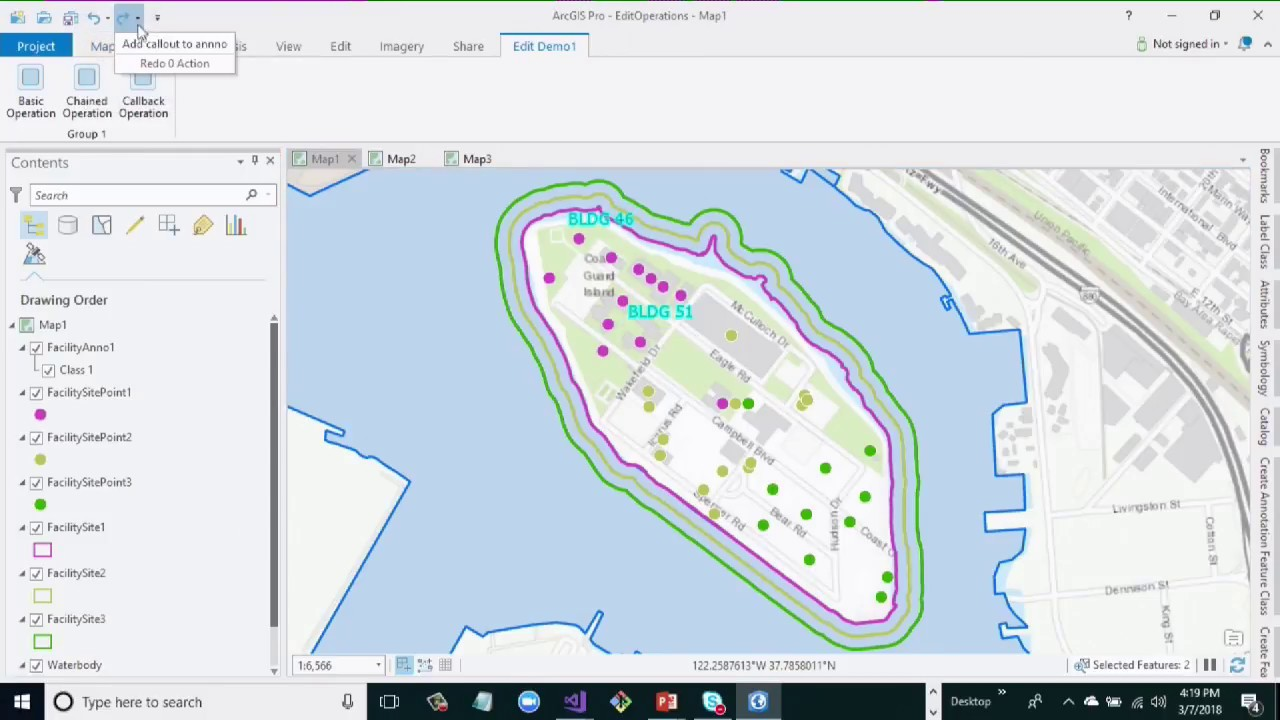 ArcGIS Pro SDK for  NET: Advanced Editing and Edit Operations