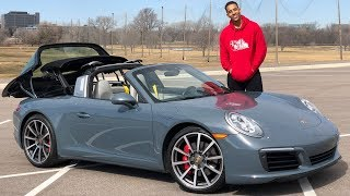 PORSCHE 911 TARGA 4S REVIEW! THIS THING IS A MONSTER!