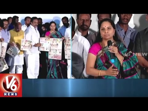 Journals Must Show Responsibility In Saving Our Culture, Says MP Kavitha | Manam Paper Launch | V6