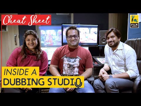 Inside A Dubbing Studio | Mona Shetty | Cheat Sheet