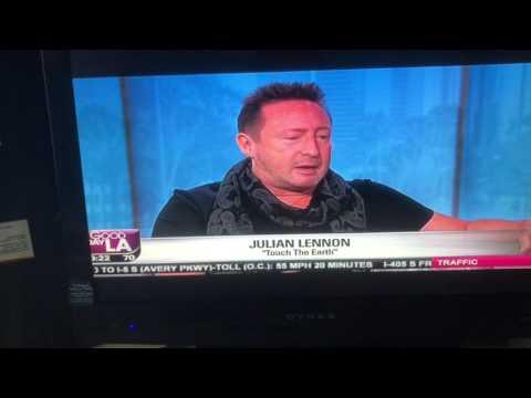 Julian Lennon Fox News 11 Los Angeles