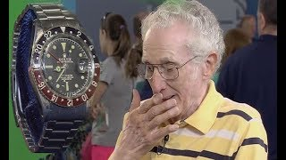 Clueless Old Man Stunned After Learning the Current Value Of His Old Rolex Watch