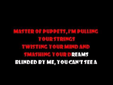 Master Of Puppets - Metallica Karaoke