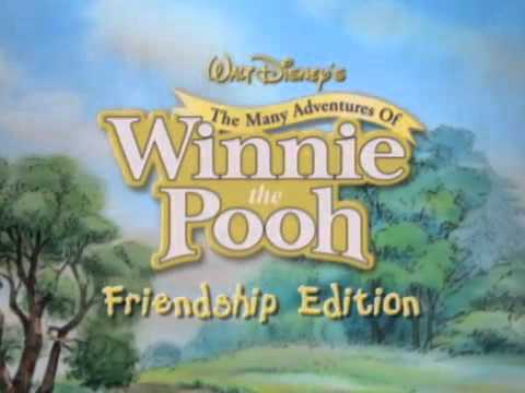 The many adventures of winnie the pooh (dvd, 2007, the friendship.