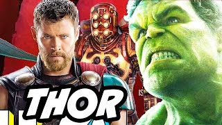 Thor Ragnarok Planet Hulk Celestials Easter Egg Explained and Trailer Update