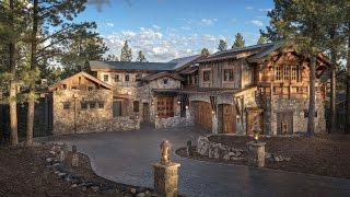 $4.5M MANSION HOUSE TOUR (Luxury Mountain Home)