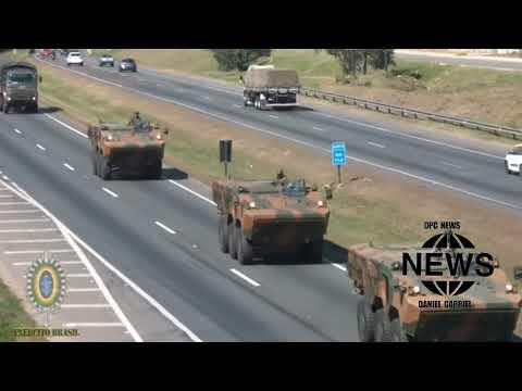 Exército Brasileiro nas ruas para o sete de setembro ( BRASILIA, ASSIS, APUCARANA )