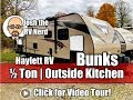2017 Winnebago 27BHSS Ultralite Half Ton Bunkhouse Outside Kitchen Used Travel Trailer