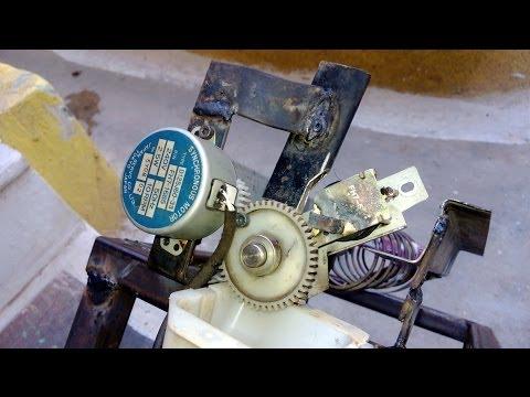 homemade Vending machine mechanism using xerox machine spare parts